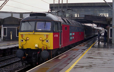 Another look at 47726 waiting in the rain at Stafford with '1G11' (06/09/2002)