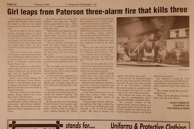 1st Responder Newspaper - February 2003