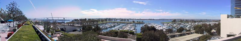 San Diego panorama, overlooking Coronado Island