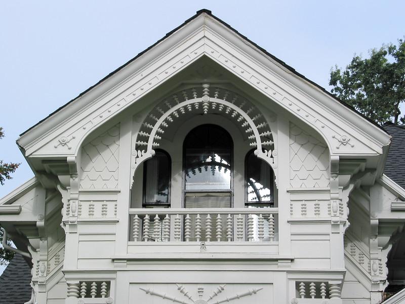 House in Santa Rosa, detail