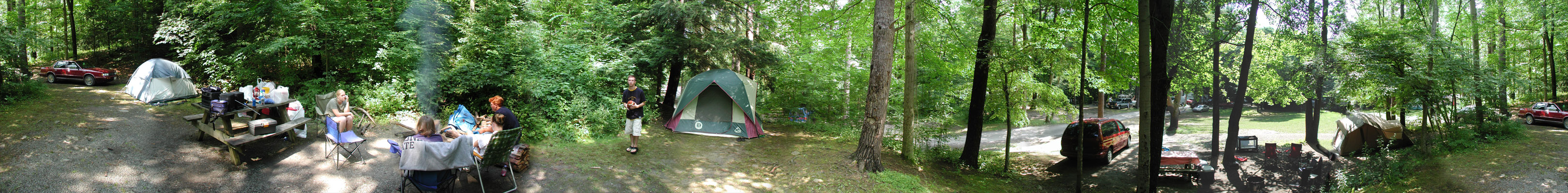 This campsite maintained by Gaylord RealEstate