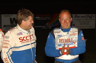 Chub Frank (left) and Davey Johnson (right)