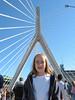 Isabel on Zakim Bridge