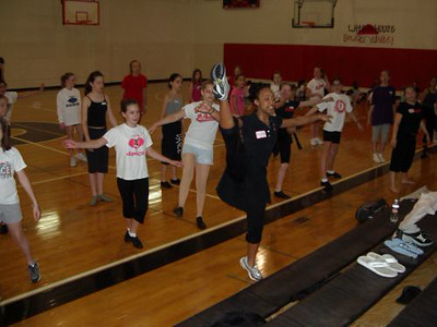 4-26-03 Angels Jr. Dance Clinic