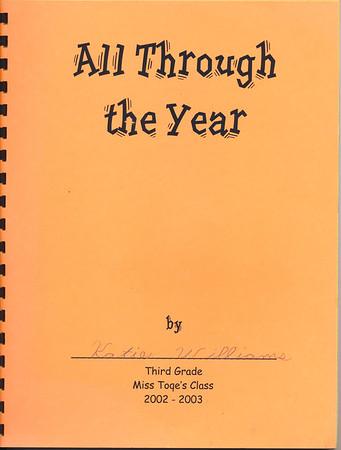2002 Katie Miss Toqe Class book