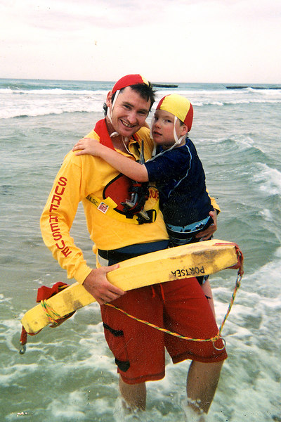 2004-01 Comedian Dave Hughes performs a Rescue