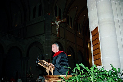 Saint Vincent Seminary Honors Knights of Columbus Leader