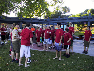 06/30/2003 - Troop meeting @ Mission Viejo Lake