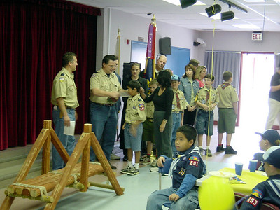 2/23/2003 - Pack 603 Bridging Ceremony