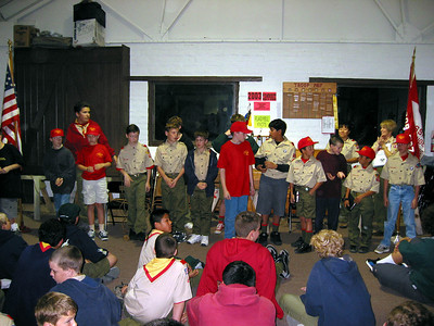 3/2/2003 - Welcome New Scout @ Troop Meeting