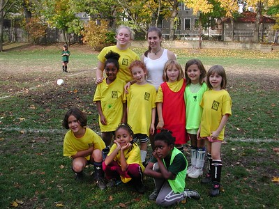 Back row:  Rachel, Emma Middle row: ___, Lily, Rachael, Alex, Isabel Front row:  Natasha, ___, Maya