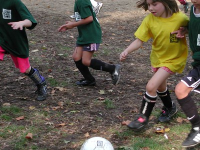 Isabel steals the ball