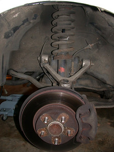 beginning with front suspension