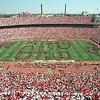 98-642-32<br /> Ohio Stadium, OSU Marching Band, OSU Alumni Marching  Band, quad Script Ohio<br /> 9-12-98<br /> Kevin Fitzsimons photo