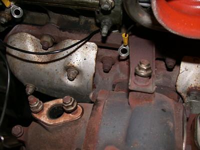 stock exhaust manifold