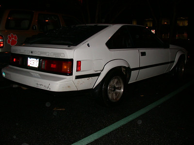 84-86 mk2 in hendrix parking lot