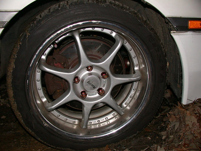 Pretty rotors as well