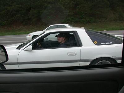 scotty enjoys my car