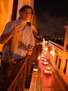 Henry in Old San Juan