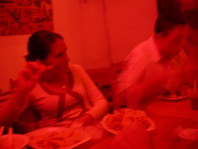 Jennifer enjoys food