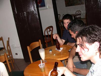 We enjoy drinks