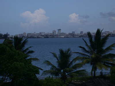 San Juan, also across the bay