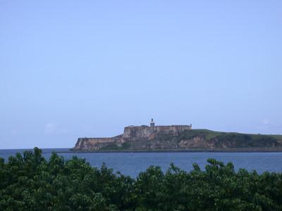 El Morro across the bay