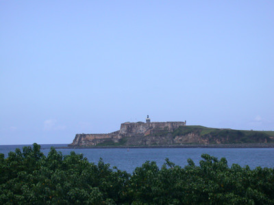 El Morro across the bay