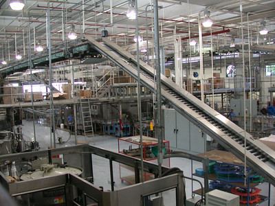 Bacardi bottling plant