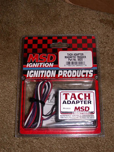 Tach adapter to make stock tach work with 7M