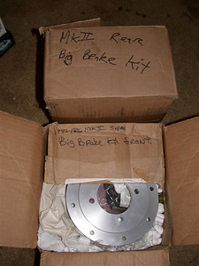 Big brake kit for front and rear