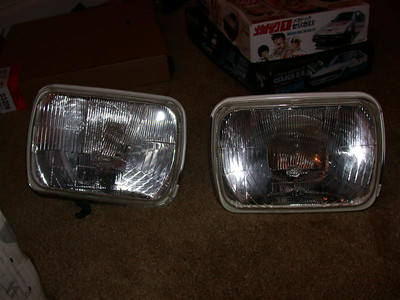 Cibie E-code H4 headlight conversion