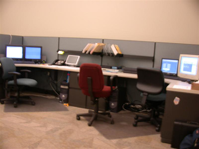 The IT area