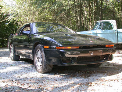 It's the silver 87T I used to own, now reincarnated as a black car