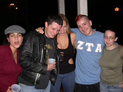 Louise, Metal Jeff, Chesty Smurf, Dan, Meej