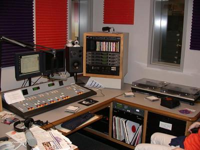 Control room (Studio A)