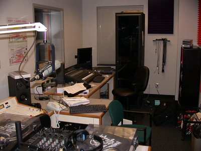 Production room (recording studio)
