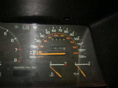116,107 miles on body