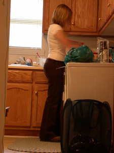 Jenn is so domestic!