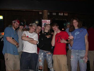 The WSBF crew (Mike, BKS, Dan, Todd, Meg, Jack, Benko)