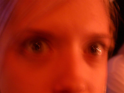 Megeyes (now open your eyes real wide like something's wrong)