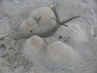 The sand village