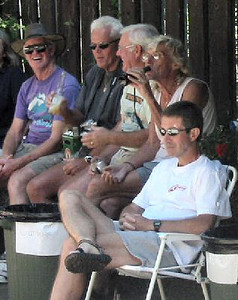 2003 25th Anniversary - Ken, Brian and Alex have a good laugh