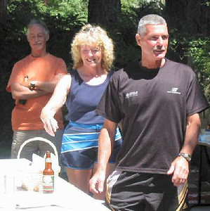 2003 25th Anniversary - John, Susan and Bob