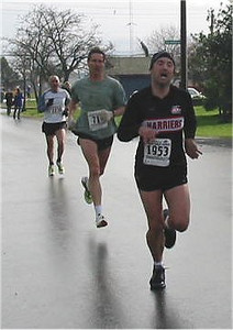 2003 Bazan Bay 5K - Chris Kelsall with his usual 'exaggerated' expression