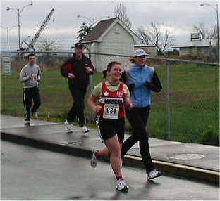 2003 Bazan Bay 5K - Alana Jones and Lisa Cantwell