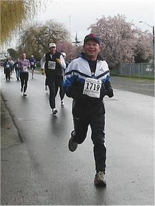 2003 Bazan Bay 5K - Garfield Saunders enjoying his race