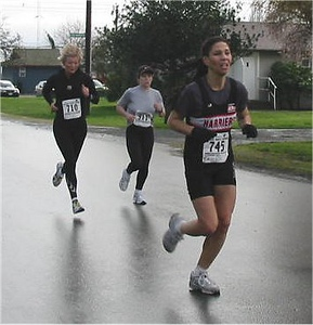 2003 Bazan Bay 5K - Shirley McComb returns to the racing scene