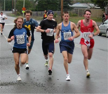 2003 Cedar 12K - The Lead Pack