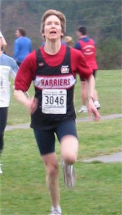 2003 Cedar 12K - Wendy Davies Showcases Her Sprinter's Speed